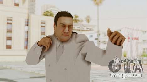 Taher Shah White Suit pour GTA San Andreas