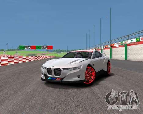 BMW 3.0 CSL Hommage R pour GTA 4 Vue arrière de la gauche
