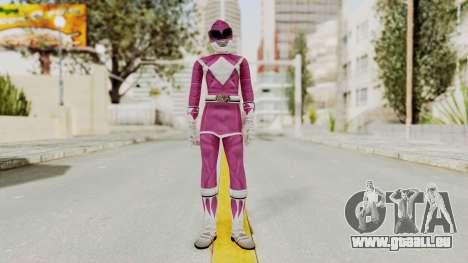Mighty Morphin Power Rangers - Pink für GTA San Andreas zweiten Screenshot