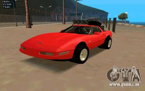 Chevrolet Corvette C4 für GTA San Andreas