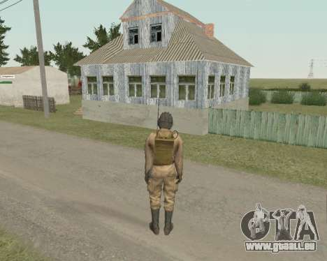 Sowjetische Soldaten für GTA San Andreas dritten Screenshot