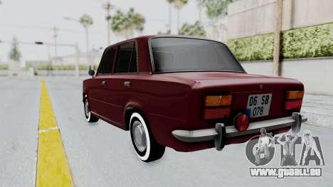 Tofas Murat 124 für GTA San Andreas zurück linke Ansicht