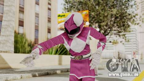 Mighty Morphin Power Rangers - Pink pour GTA San Andreas