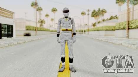 Alien Rangers - White für GTA San Andreas zweiten Screenshot