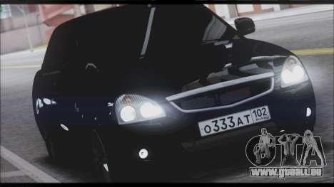 Lada Priora Sedan für GTA San Andreas linke Ansicht