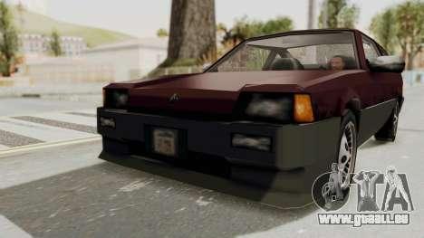 Blista Compact GPX (Beta VC Blistac) pour GTA San Andreas vue de droite