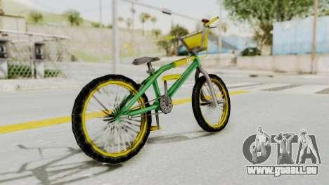 Bully SE - BMX pour GTA San Andreas laissé vue