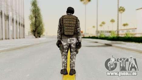 Black Mesa - HECU Marine Beret pour GTA San Andreas troisième écran