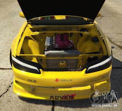 GTA 5 Nissan Silvia S15 Vertex hinten rechts