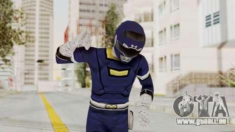 Power Rangers Turbo - Blue für GTA San Andreas
