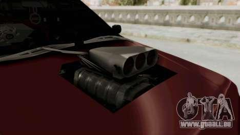 Peugeot Pars Sport für GTA San Andreas Rückansicht