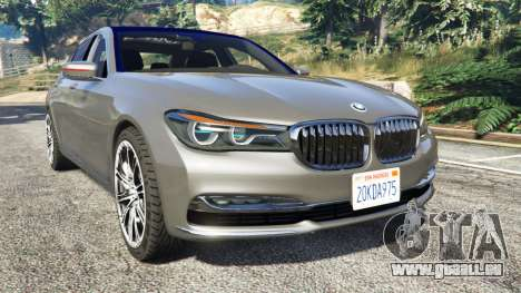 BMW 750Li xDrive (G12) 2016 für GTA 5
