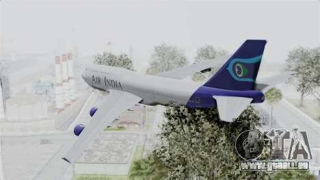 Boeing 747-400 Air India pour GTA San Andreas laissé vue