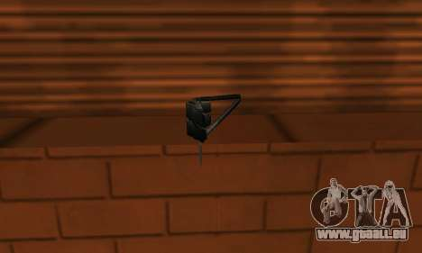 Pneumatic Mangler pour GTA San Andreas deuxième écran
