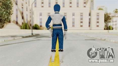 Power Rangers Lost Galaxy - Blue für GTA San Andreas dritten Screenshot