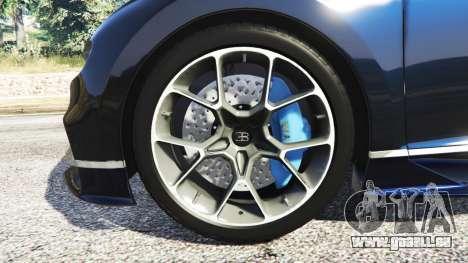 Bugatti Chiron für GTA 5