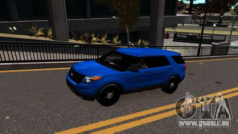 Ford Explorer 2013 pour GTA 4