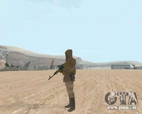 Soviet Sniper pour GTA San Andreas quatrième écran