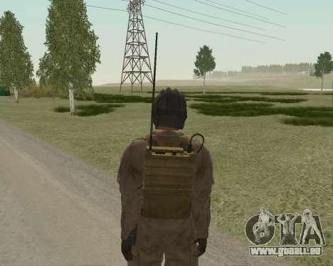Les soldats soviétiques pour GTA San Andreas quatrième écran