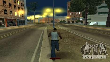 Der Indikator, der schnell laufen für GTA San Andreas her Screenshot