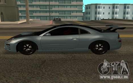 Mitsubishi Eclipse GTS pour GTA San Andreas laissé vue