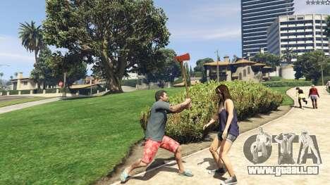 GTA 5 Weapon Variety 0.9 sixième capture d'écran