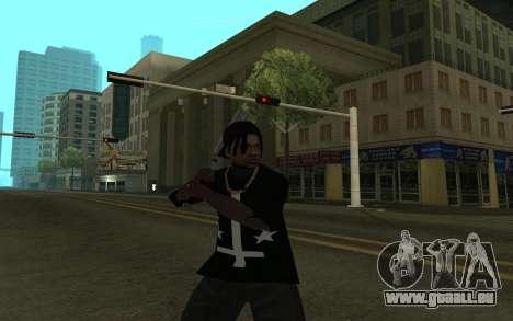Grove Gang Skin pour GTA San Andreas troisième écran