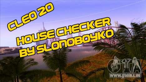 House Checker pour GTA San Andreas
