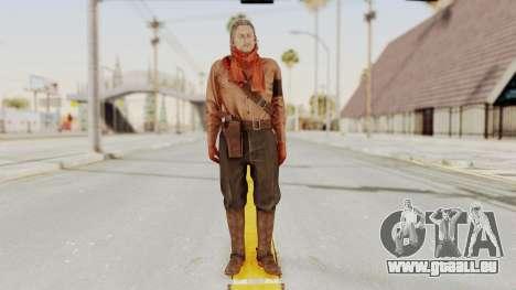 MGSV Phantom Pain Ocelot Mother Base pour GTA San Andreas deuxième écran