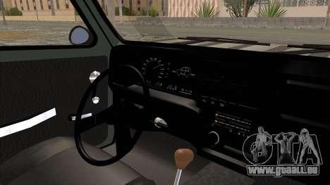 Fiat 147 Vivace pour GTA San Andreas vue intérieure