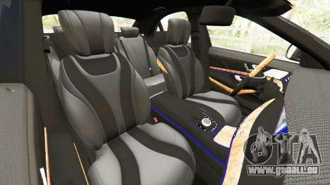GTA 5 Mercedes-Benz S500 droite vue latérale