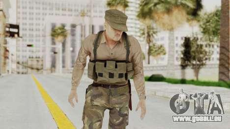 MGSV Phantom Pain Rogue Coyote Soldier Shirt v1 pour GTA San Andreas