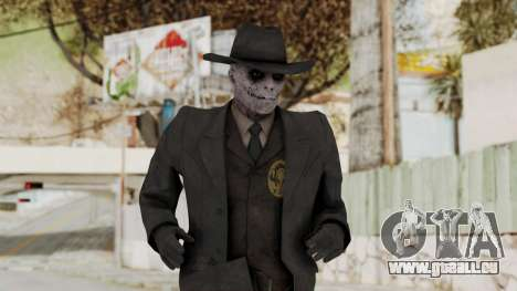 MGSV Phantom Pain SKULLFACE No Mask pour GTA San Andreas