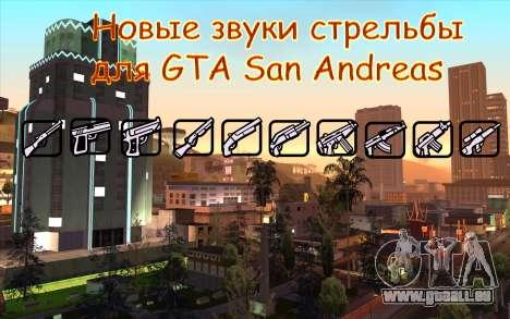 De nouveaux bruitages de tir pour GTA San Andreas