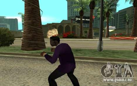 Jizzy pour GTA San Andreas troisième écran