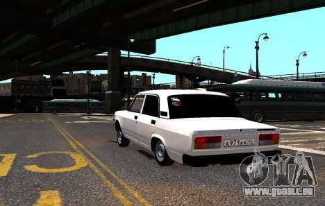 VAZ 2107 AzElow für GTA 4 Seitenansicht