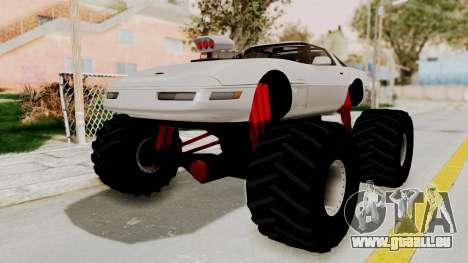 Chevrolet Corvette C4 Monster Truck pour GTA San Andreas