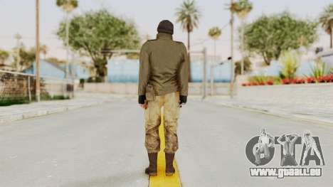 MGSV Phantom Pain CFA Sniper pour GTA San Andreas troisième écran