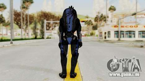 Mass Effect 2 Garrus pour GTA San Andreas troisième écran