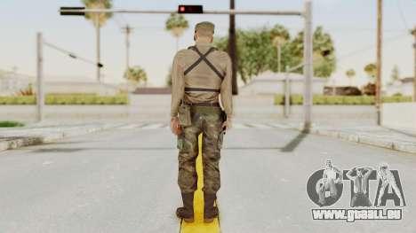 MGSV Phantom Pain Rogue Coyote Soldier Shirt v1 pour GTA San Andreas troisième écran