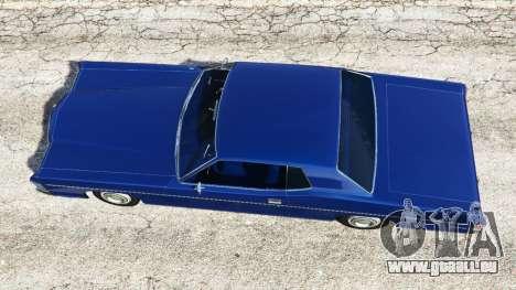 GTA 5 Mercury Monterey 1972 vue arrière