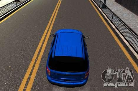 Ford Explorer 2013 pour GTA 4 est un droit