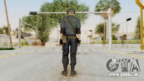 MGSV Phantom Pain Zero Risk Security LMG v2 pour GTA San Andreas troisième écran
