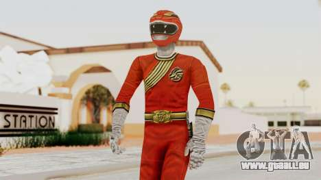 Power Rangers Wild Force - Red für GTA San Andreas