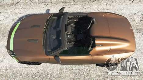 Jaguar F-Type Project 7 2016 pour GTA 5