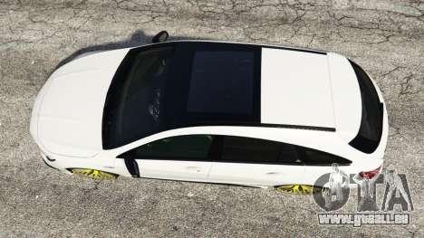 GTA 5 Mercedes-Benz CLA 45 AMG [HSR Wheels] vue arrière