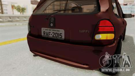 Chevrolet Corsa Hatchback Tuning v1 pour GTA San Andreas salon
