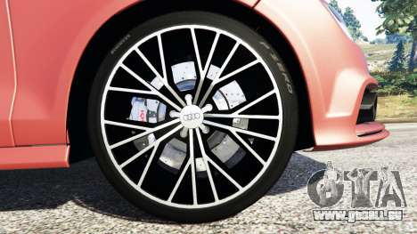 GTA 5 Audi A7 2015 Lenkrad