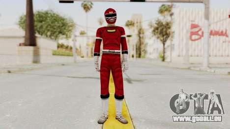 Power Rangers Turbo - Red für GTA San Andreas zweiten Screenshot