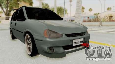 Chevrolet Corsa Wagon Tuning pour GTA San Andreas